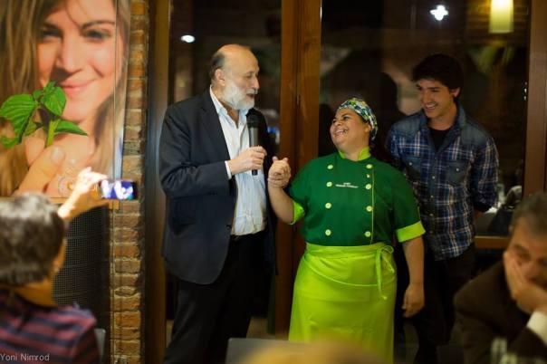 Agradecimento a Carlo Petrini e ao Slow Food
